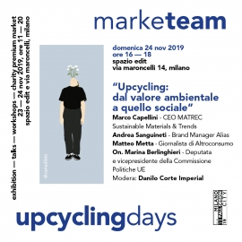 MarkeTEAM Upcycling days